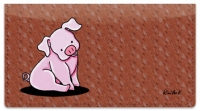 Click on Pig Checkbook Cover For More Details