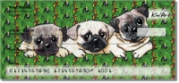Click on Pug Series Personal Checks For More Details