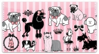 Click on Doggy Boudoir Checkbook Cover For More Details