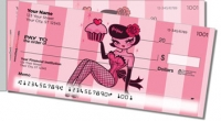 Click on Cupcake Girl Side Tear Personal Checks For More Details