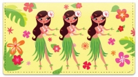 Click on Hula Girl Checkbook Cover For More Details