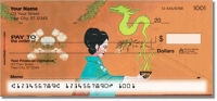 Click on Asian Art Personal Checks For More Details