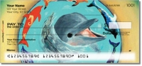 Click on Swimming Dolphin Personal Checks For More Details