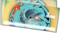 Click on Swimming Dolphin Side Tear Personal Checks For More Details