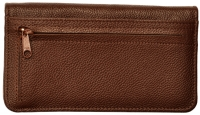Click on Dark Brown Leather Zippered Cover For More Details