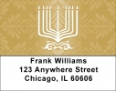 Click on Menorah Labels For More Details