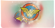 Click on Wonder Woman Checkbook Cover For More Details