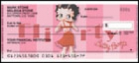 Click on Betty Boop Vintage Side Tear - 1 box Personal Checks For More Details