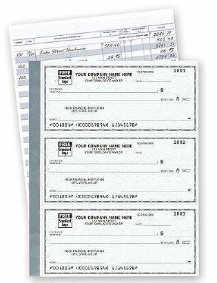 Click on The Secretary Deskbook, 3-On-A-Page Compact Size Checks For More Details