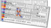 Click on Cancer - Cure Them All Side Tear Personal Checks For More Details