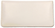 Click on White Smooth Leather Cover For More Details