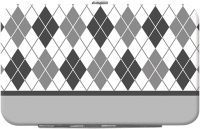 Click on Argyle New Black and White Debit Mini Clutch For More Details