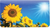 Click on Sunflowers Leather Cover For More Details