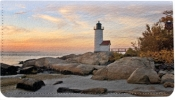 Click on Lighthouses Leather Checkbook Cover For More Details