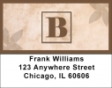 Click on Simplistic Monogram B Address Labels For More Details