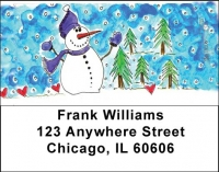 Click on Winter Wonderland Address Labels by Amy S. Petrik For More Details