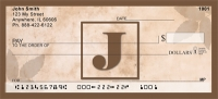 Click on Simplistic Monogram J Personal Checks For More Details
