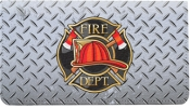 Click on Firefighter Badges Leather Cover For More Details