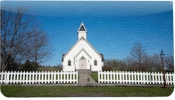 Click on Country Churches Leather Cover For More Details