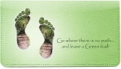 Click on Leave A Green Trail Leather Cover For More Details