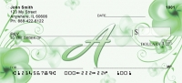 Click on Floral Monogram A Personal Checks For More Details