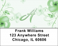 Click on Floral Monogram A Address Labels For More Details