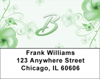 Click on Floral Monogram B Address Labels For More Details
