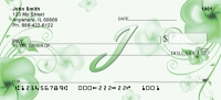Click on Floral Monogram I Personal Checks For More Details