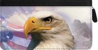 Click on American Eagle Pride Zippered Checkbook Cover For More Details
