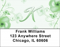 Click on Floral Monogram K Address Labels For More Details