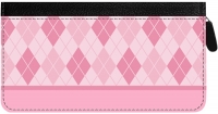 Click on Argyle New Zippered Checkbook Cover For More Details