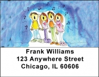 Click on JOYFUL JINGLES Address Labels by Amy S. Petrik For More Details