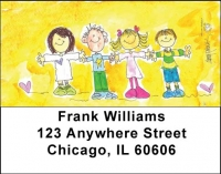 Click on Alice's Angels Address Labels by Amy S. Petrik For More Details