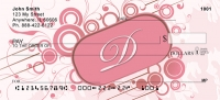 Click on Stylish Monogram D Personal Checks For More Details