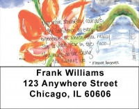 Click on Love & Friendship Address Labels by Amy S. Petrik For More Details