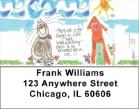 Click on Home Sweet Home Address Labels by Amy S. Petrik For More Details