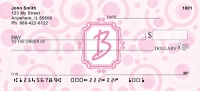 Click on Bubbly Monogram B Checks For More Details