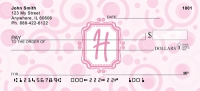 Click on Bubbly Monogram H Personal Checks For More Details