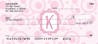 Click on Bubbly Monogram K Personal Checks For More Details