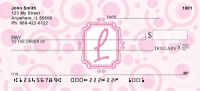 Click on Bubbly Monogram L Personal Checks For More Details