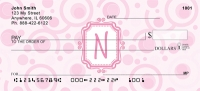 Click on Bubbly Monogram N Personal Checks For More Details