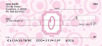 Click on Bubbly Monogram O Personal Checks For More Details