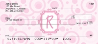Click on Bubbly Monogram R Personal Checks For More Details