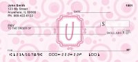 Click on Bubbly Monogram U Checks For More Details