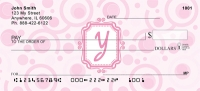 Click on Bubbly Monogram Y Personal Checks For More Details