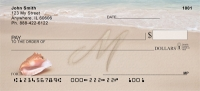Click on Sand Written Monogram M Personal Checks For More Details