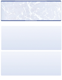 Click on Blue Marble Blank Stock for Computer Voucher Checks Top Style For More Details