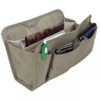 Click on Large Gray Purse Organizer For More Details