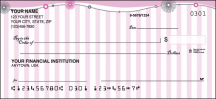 Click on Pretty in Pink Girly - 1 Box Personal Checks For More Details