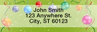 Click on Christmas Ornament Party Rectangle Address Labels For More Details